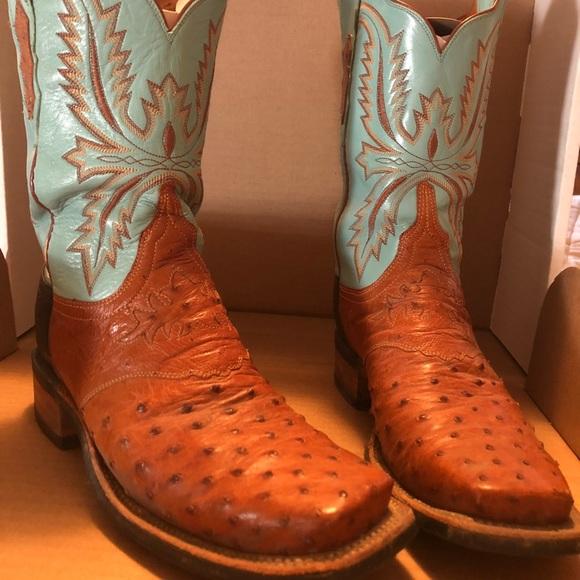 7f8785d1bc1 Women's Lucchese Ostrich boots